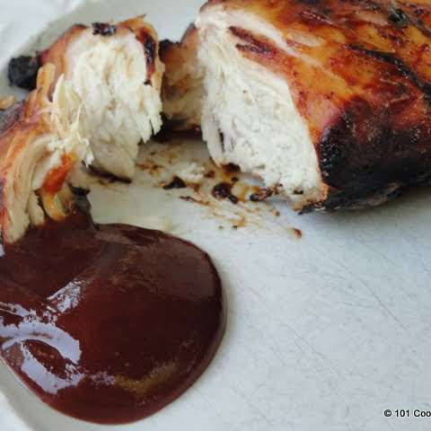 Simple Grilled BBQ Skinless Boneless Chicken Breast