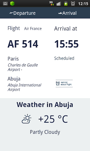 Flight Schedule Naija APK