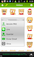 Screenshot of Stickers FREE Emoticons