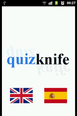 Quiz Knife Learn Spanish FREE