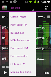 Techno, Trance Music Radio - screenshot