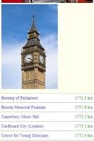 Screenshot of Around The World - London