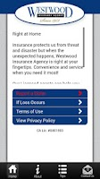 Screenshot of Westwood Insurance Agency App