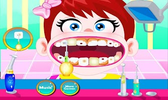 Screenshot of Baby Dentist Office
