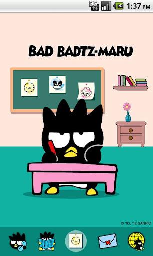 Bad Badtz-Maru Desk Theme