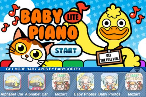 baby-piano-lite for android screenshot
