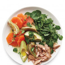 Roasted Fennel, Orange, and Tuna Salad