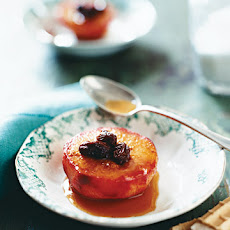 Roasted Plums and Rum Raisins