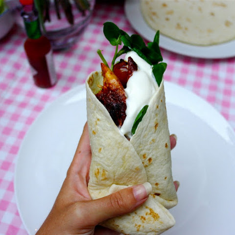 Starlit Spicy Lemon Chicken Wraps