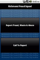 Screenshot of Richmond,VA Fraud