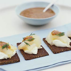 Dill-Cured Halibut with Mustard Sauce