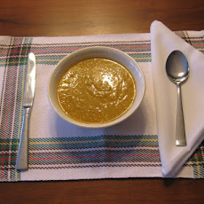 Nutty Carrot Cumin Soup