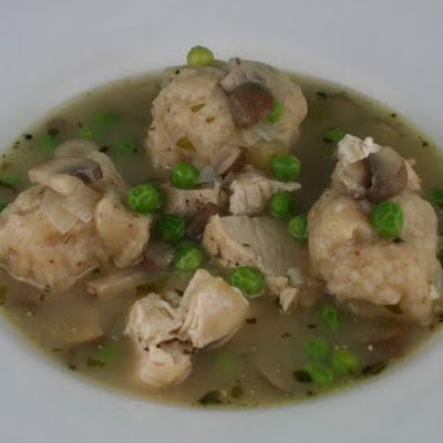 Chicken with Mustard Dumplings