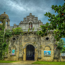 Tangalan Church by Nick Foster - Buildings & Architecture Places of Worship ( prayer, church, town, philippines, worship )