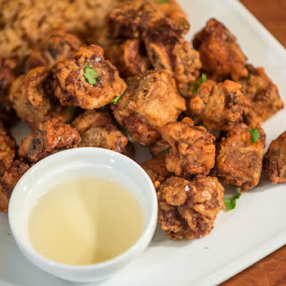 Crispy Filipino Fried Spareribs With Vinegar Dipping Sauce