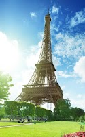 Screenshot of Sunny Paris Live Wallpaper