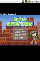 Screenshot of Rufio Adventures LITE