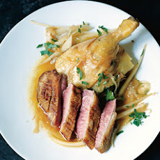 Braised Duck Legs and Sautéed Duck Breast