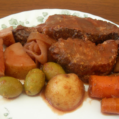 Greek-American Slow Cooker Pot Roast