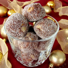 Christmas Rum Balls(Or Bourbon Balls)