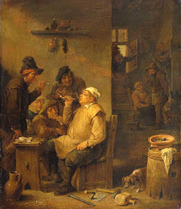 RIJKS: David Teniers (II): painting 1660