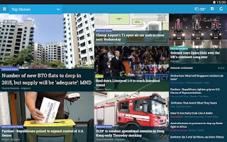 Screenshot of NewsLoop