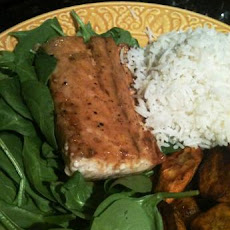 Mahi Mahi With Brown-Sugar Soy Glaze