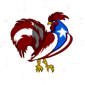Puerto Rico Rooster Clock icon
