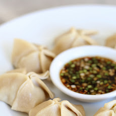 Five Spice Chicken-Lemongrass Dumplings