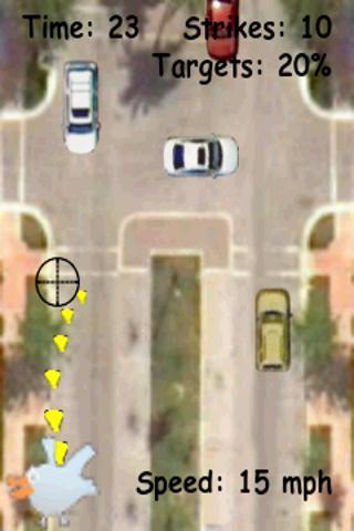 Traffic Plop a fun bird game