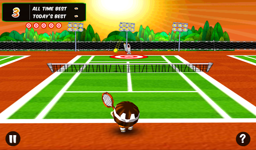 Chop Chop Tennis - screenshot