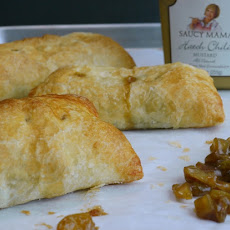 Puff Pastry Apple-Hatch Hand Pies