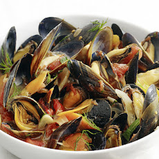 Steamed Mussels with Fennel and Tomato