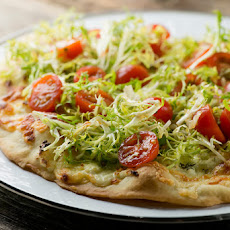 White Salad Pizza