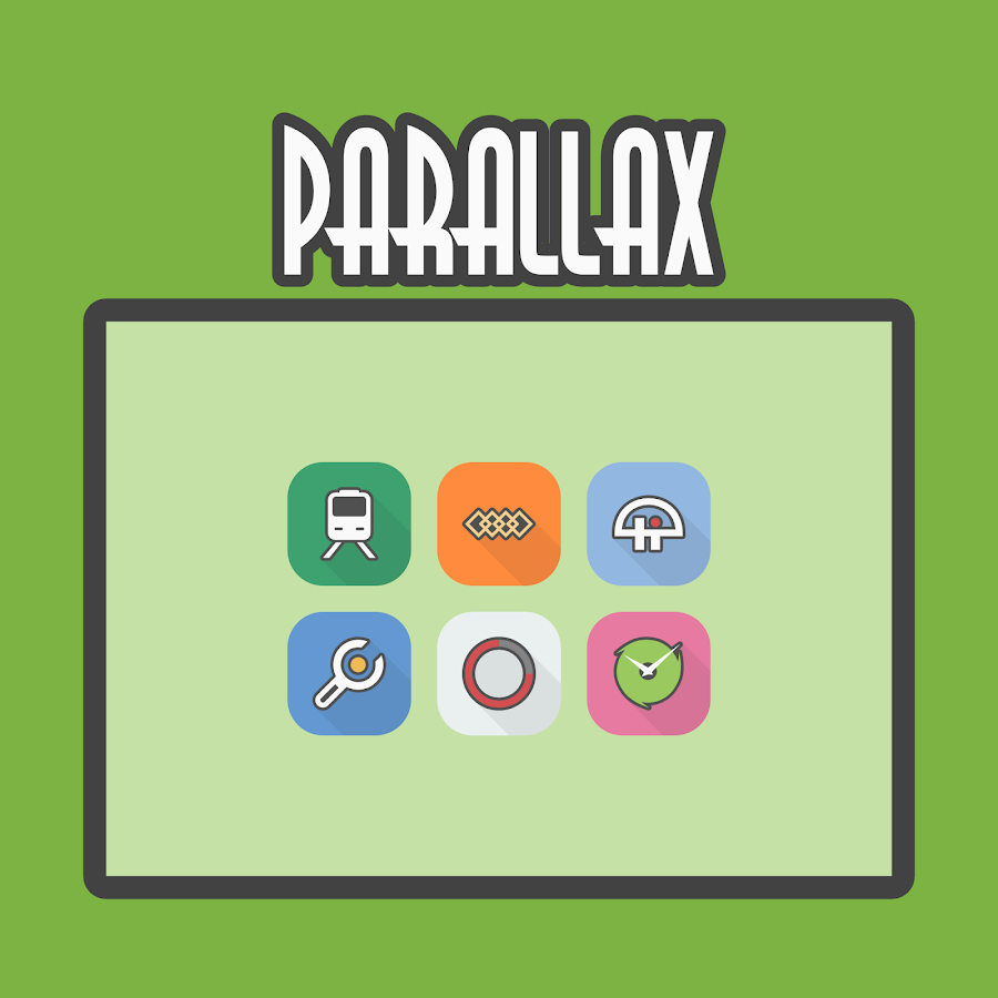 Parallax - Icon Pack Screenshot 6