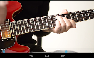Screenshot of Blues Guitar Method