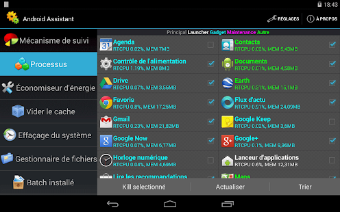 Screenshots  Android Assistant
