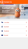 Screenshot of EDF Energy