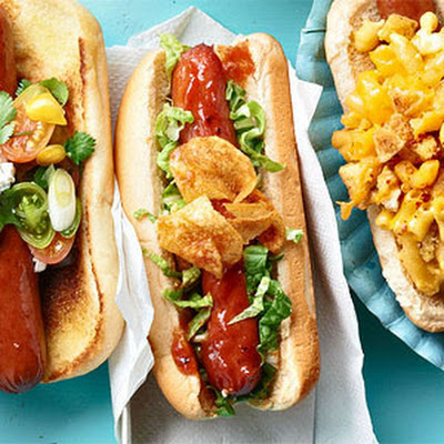 Barbecue Potato Chip Crunch Dogs