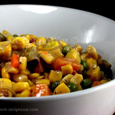 Hearty Vegetarian Corn Chowder