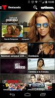 Screenshot of Telemundo Now