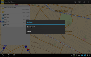 Screenshot of CarryMap Observer
