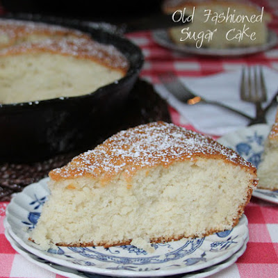 Old Fashioned Sugar Cake