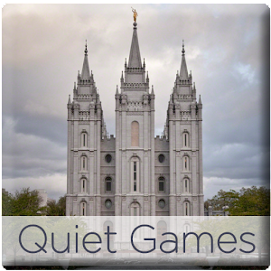 Quiet Games for LDS Kids