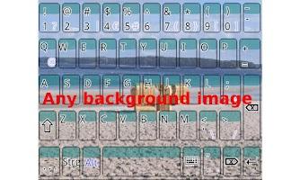 Screenshot of Bright Keyboard Demo