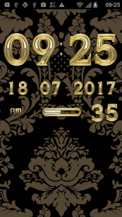 LAURUS Digital Clock Widget - screenshot