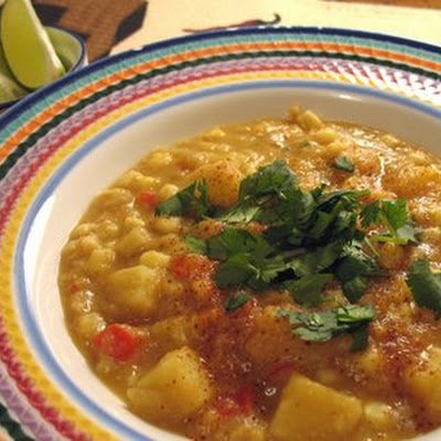 Southwestern Corn and Potato Soup