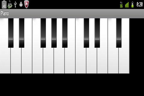 Piano Free of charge