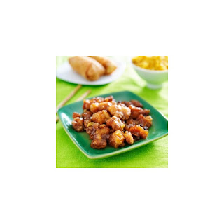 4-Ingredient Orange Chicken