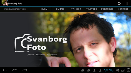 Svanborg Foto - screenshot